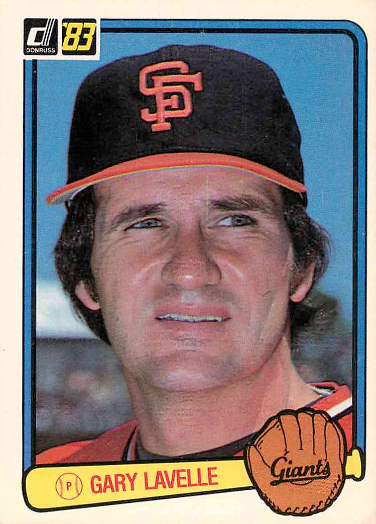 1983 Donruss Gary Lavelle #60 card front image