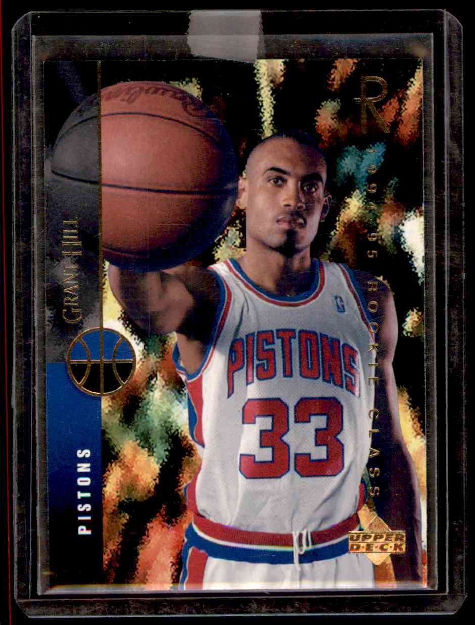 1994-95 Upper Deck Grant Hill #157 card front image