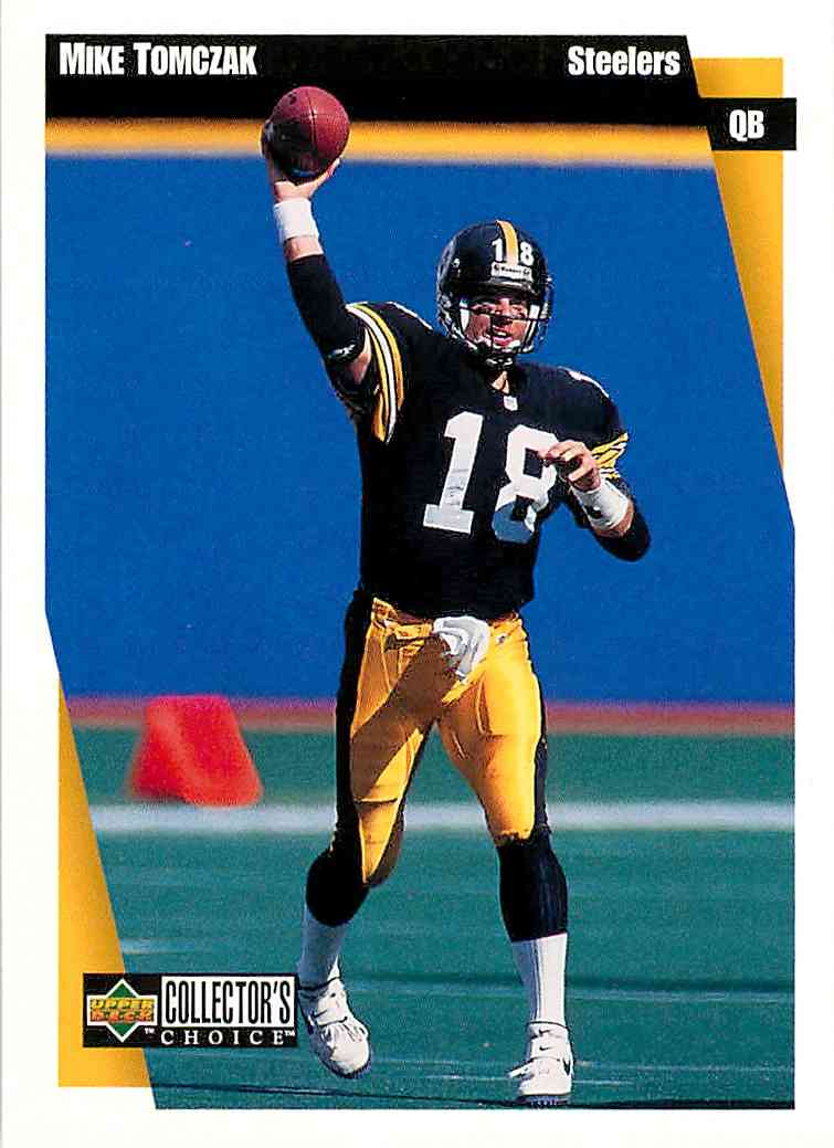 1997 Upper Deck Collector's Choice Mike Tomczak #291 card front image