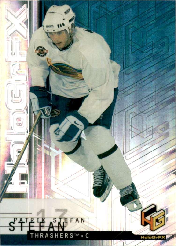 1999-00 Upper Deck HoloGrFx Patrik Stefan RC #3 card front image