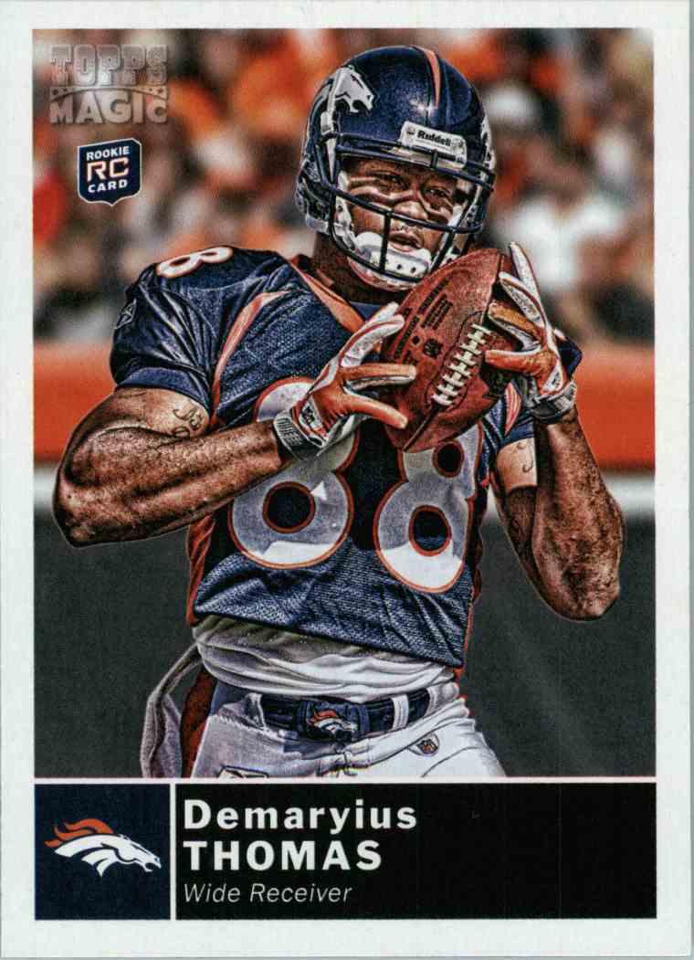 2010 Topps Magic Demaryius Thomas #199 card front image