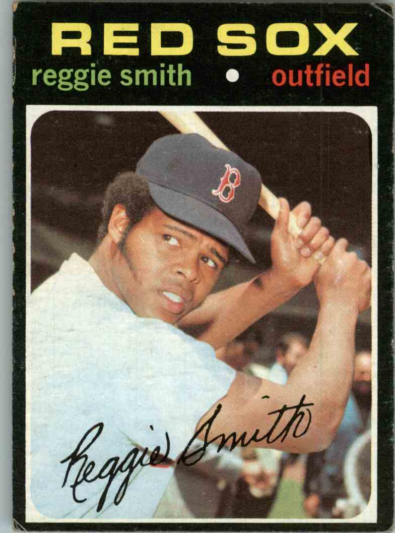 1971 Topps Reggie Smith #305 card front image