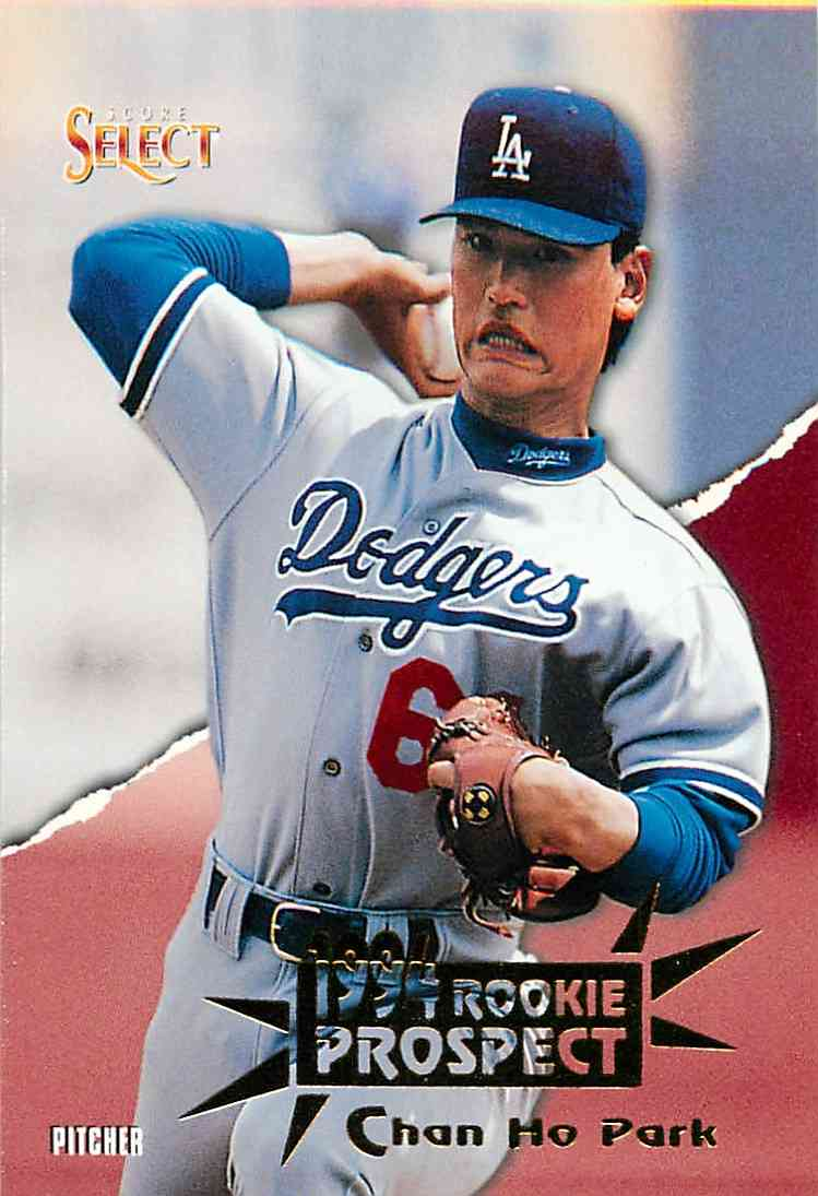 1994 Pinnacle Rookie Prospect Chan Ho Park #177 card front image