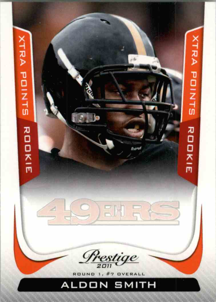 2011 Prestige Xtra Aldon Smith #206 card front image