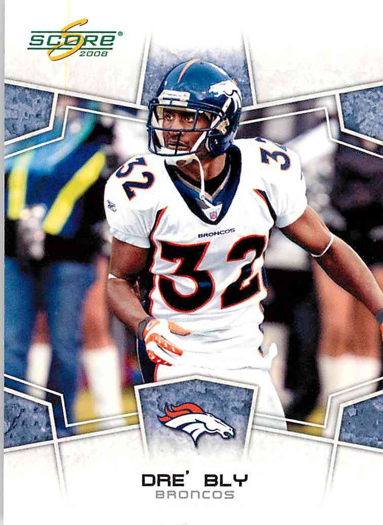 2008 Score Dre' Bly #95 card front image