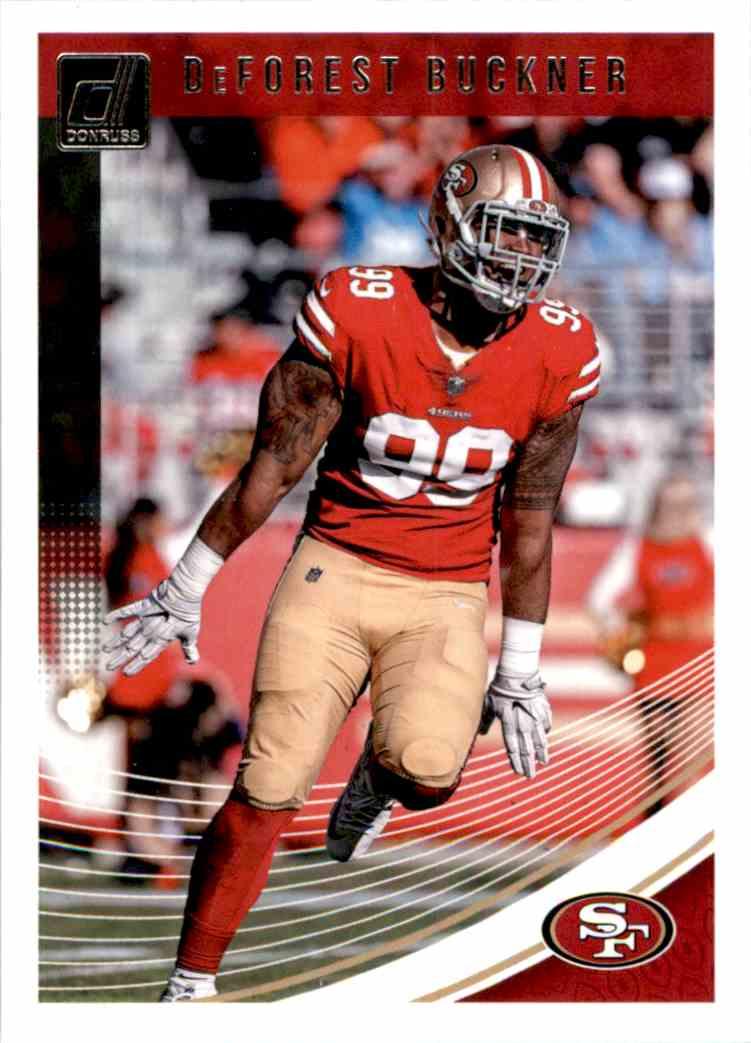 2018 Donruss DeForest Buckner #256 card front image