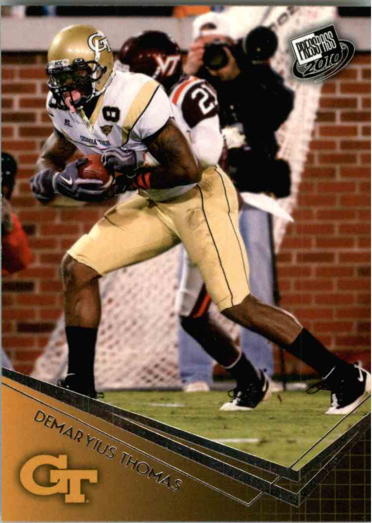 2010 Press Pass Demaryius Thomas #17 card front image
