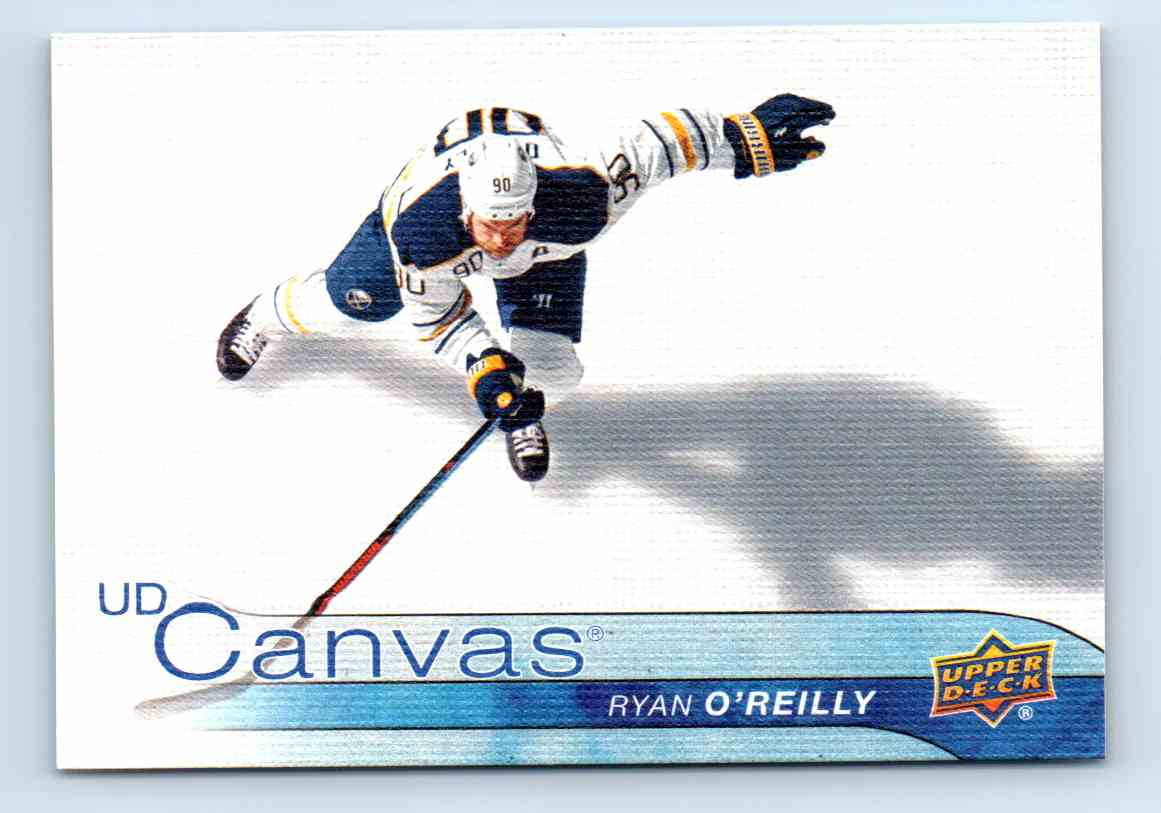 2015-16 Upper Deck Canvas Ryan O'Reilly #C12 card front image