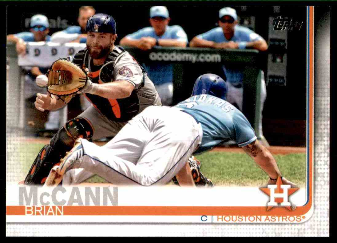 2019 Topps Brian McCann #322 card front image