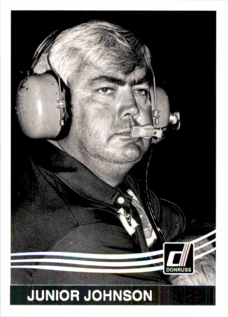2017 Donruss Junior Johnson #138 card front image