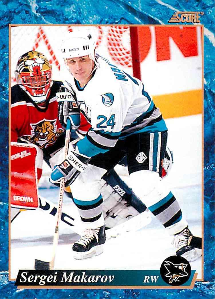 1993-94 Score Sergei Makarov #531 card front image