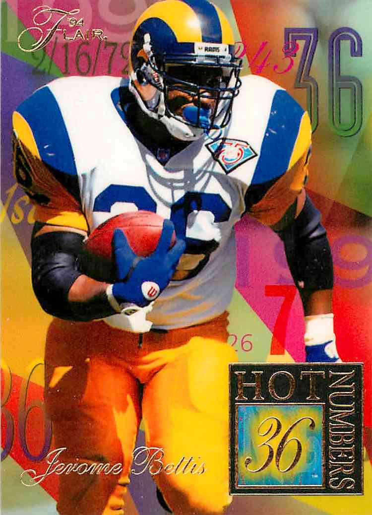 1994 Flair Jereme Bellis #2 card front image