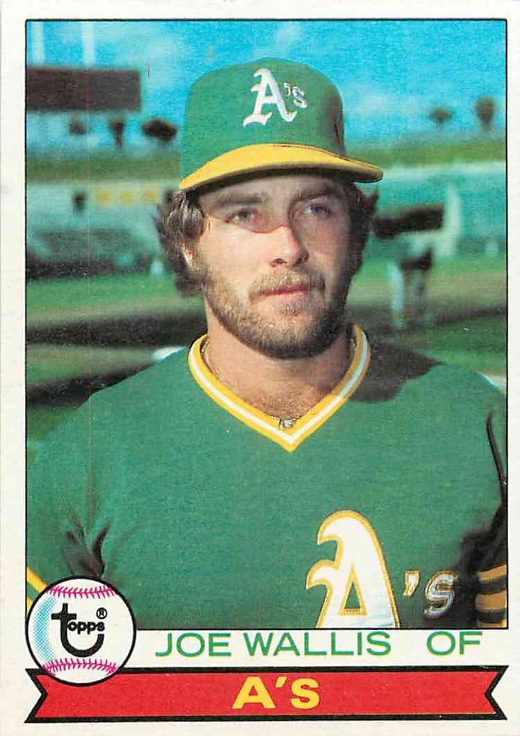1979 Topps Joe Wallis #406 card front image