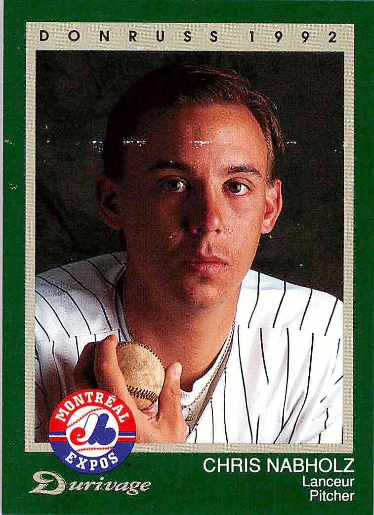 1992 Leaf Donruss Chris Nabholz #13 card front image