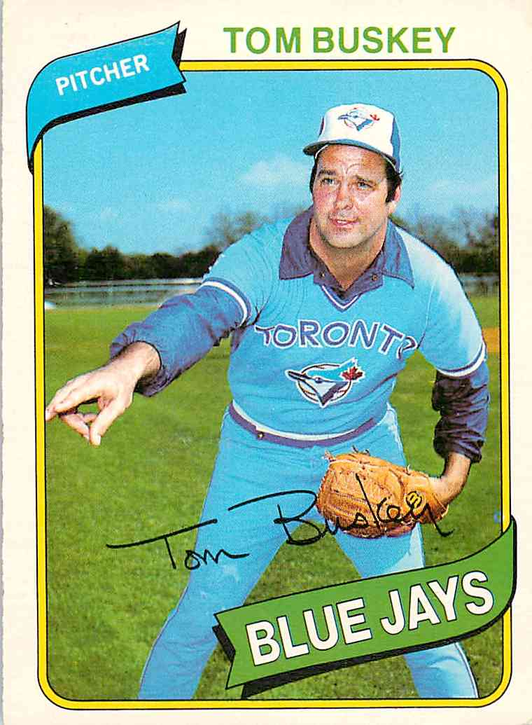 1980 O-Pee-Chee Tom Buskey #265 card front image