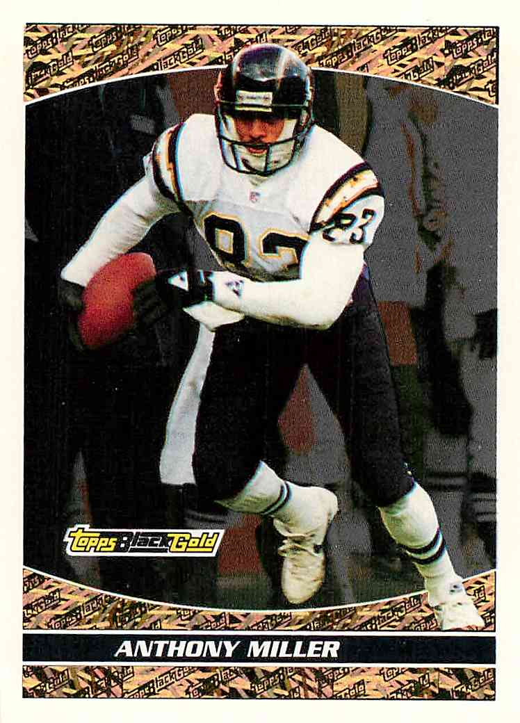 1993 Topps Black Gold Anthony Miller #22 card front image