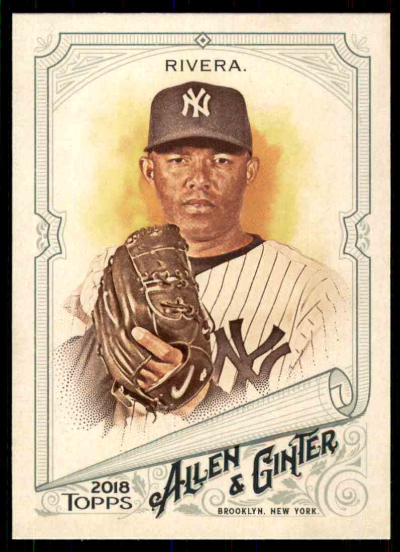 2018 Topps Allen & Ginter Mariano Rivera #85 card front image