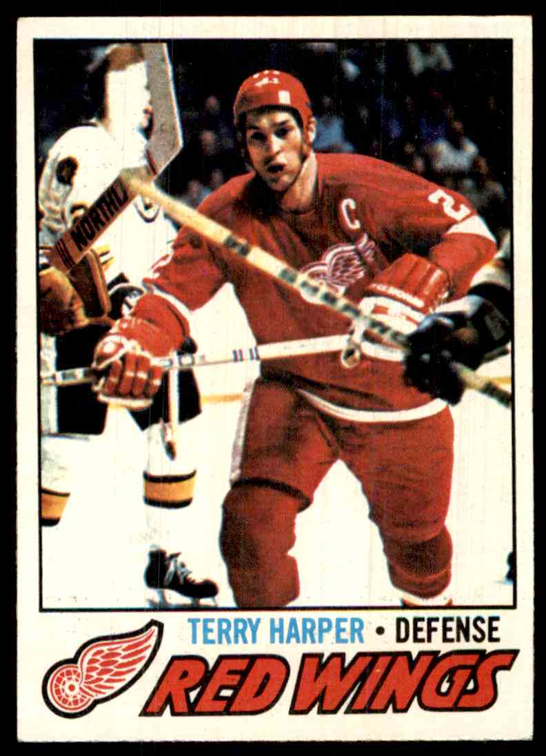 1977-78 Topps Terry Harper #16 card front image