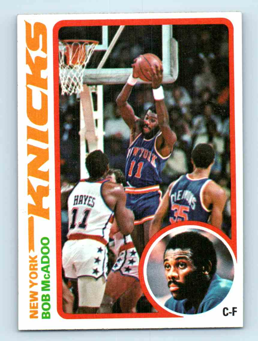 11 Bob McAdoo trading cards for sale