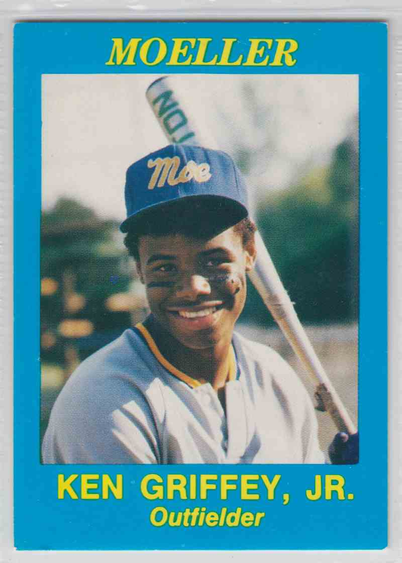 76655478b4 1987 All American Sports Moeller Ken Griffey JR #NNO card front image
