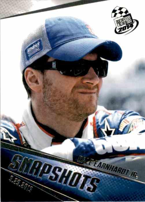 2014 Press Pass Dale Earnhardt JR. Ss #99 card front image